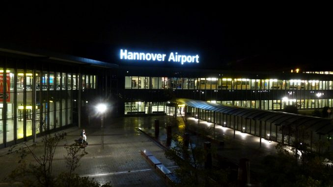 Hanover airport reopens after vehicle  intruder detained