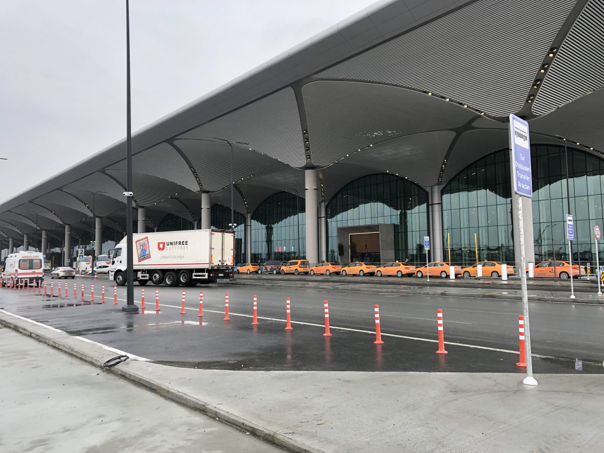 Terminal from the outside