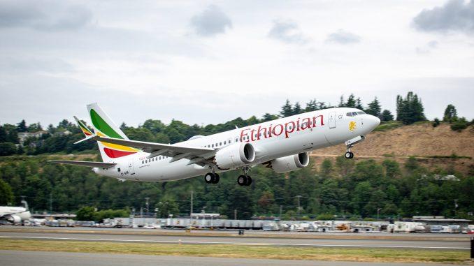 โบอิ้ง 737-800MAX ของสายการบินเอธิโอเปียนตกหลังจากบินขึ้นได้ไม่นาน