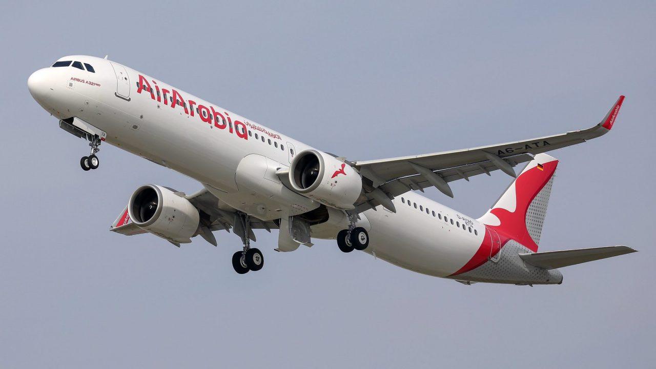 Air Arabia Receives Its First Airbus A321lr